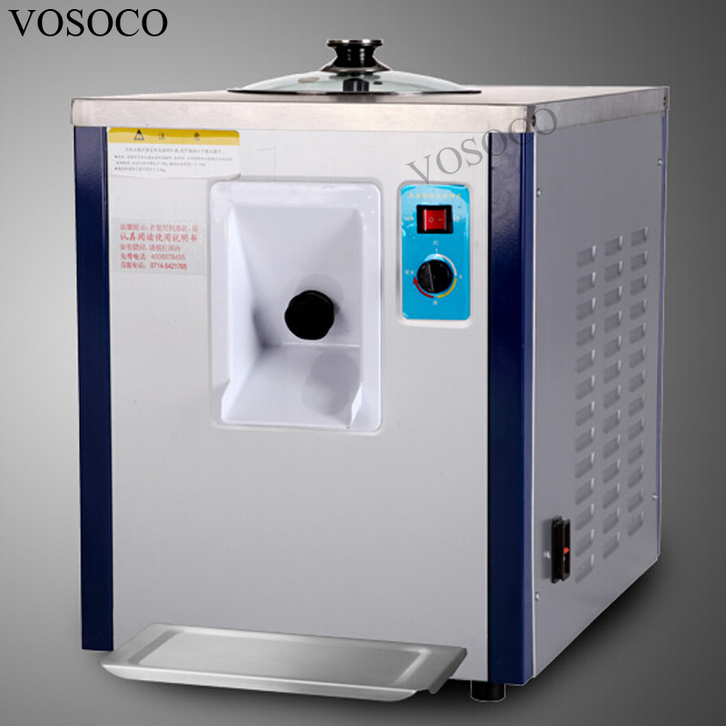 VOSOCO Commercial ice cream machine Hard Scoop ice cream machine 930W Stainless steel ice cream machine 11L/h Ice cream maker стоимость