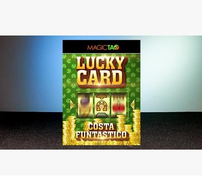 Free Shipping Itgimmick Lucky Card Gimmick And Online Instructions