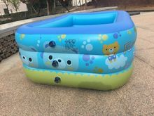Children Bathing Tub Baby Home Paddling Pool Inflatable Square Swimming Kids Freeshipping Infant Water zwembad