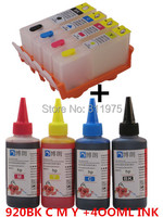 920XL 920 Hp920 Refillable INK Cartridge For HP Officejet 6000 6500 6500A 7000 7500A For Hp