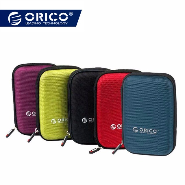 Colourful 2.5 Inch Protective Casing for External  Hard Disk Drive