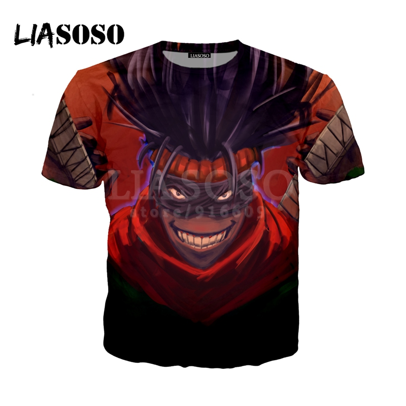 LIASOSO NEW Anime Boku No Hero My Hero Academia Cosplay Tees 3D Print t shirt/Hoodie/Sweatshirt Unisex Good Quality Tops G1388