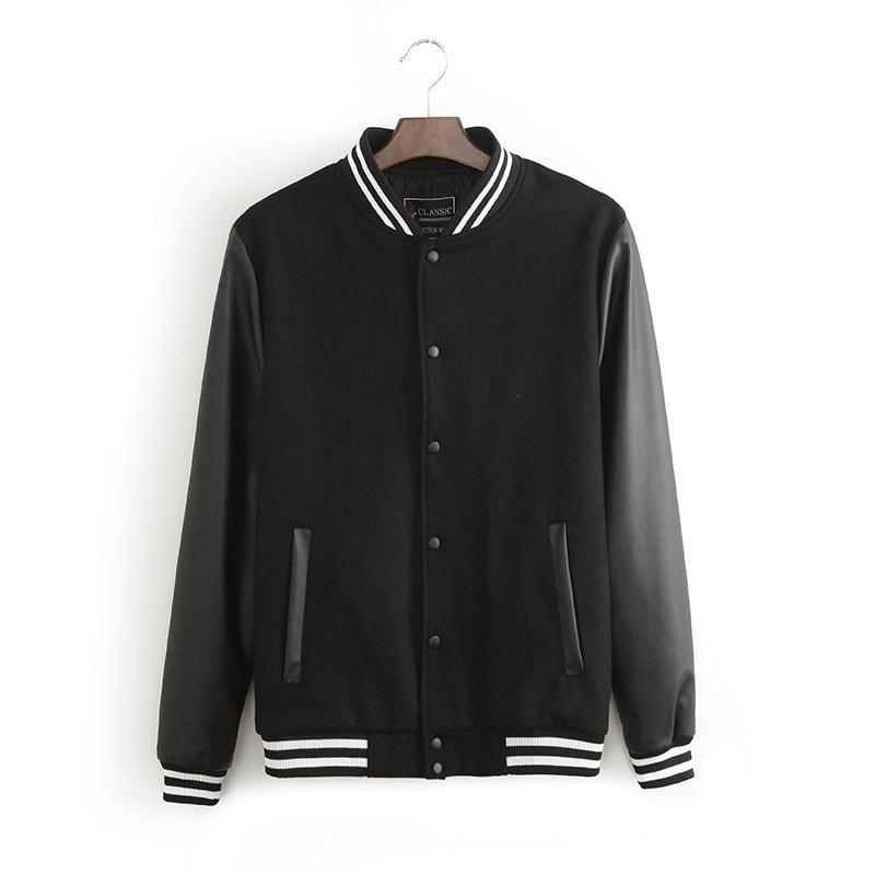 Aliexpress.com : Buy New Autumn Winter Fashion Baseball Jacket Men ...