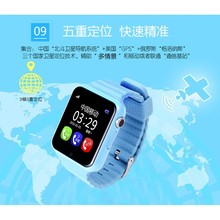 2017 NEW GPS SmartWatch V7K Smart baby watch with camera SOS Call Location Device Tracker Anti-Lost Monitor PK Q90 Q750