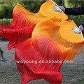 180 * 90 см размер китай натурального шелка танец живота поклонники покрывалами для этапе выполнения или танцевальное шоу горячая распродажа