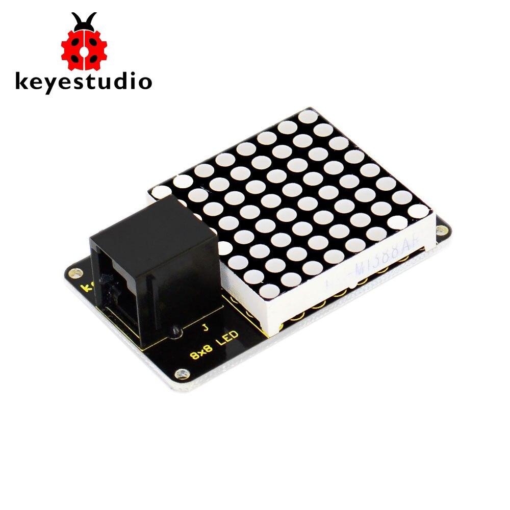 2016 neu! Keyestudio EINFACHE plug IIC I2C 8*8 LE D Dot Matrix Display für Arduino