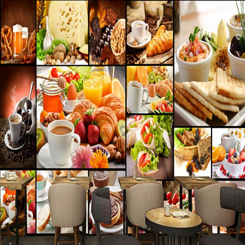 Restaurant Kitchen Wallpaper compare prices on photo wallpapers cafe- online shopping/buy low