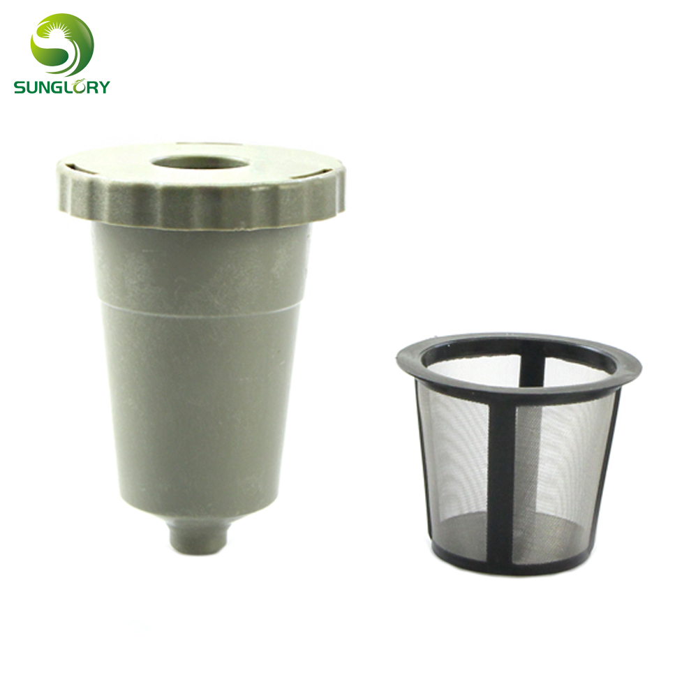 Keurig K Cup Pod Coffee Capsules For Nespresso Reusable Filter Baskets Refillable Filters Machine Holder Cafe Tool In Colanders Strainers
