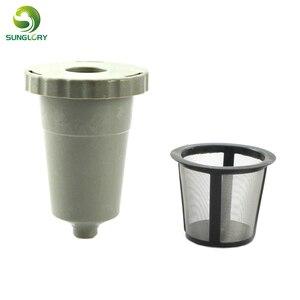 Taza Keurig K cápsulas de café para cestas de filtro de café reutilizables espresso filtros de café rellenables soporte de Máquina Herramienta de café