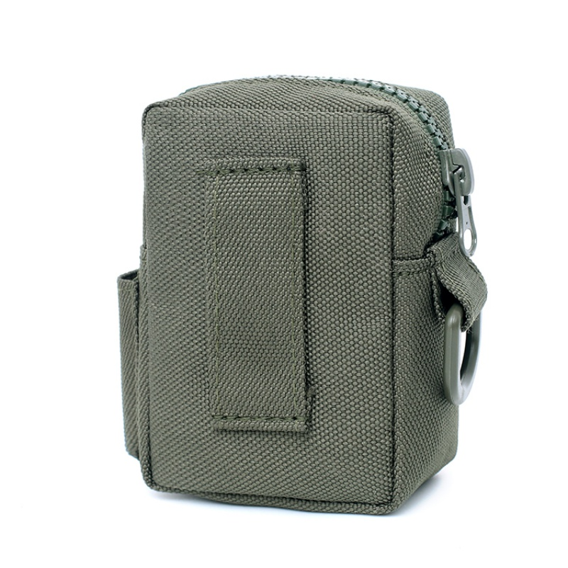 Portable 1000D Military Equipment  Waterproof Camping Hiking Bags Tactical Molle EDC Pouch Outdoor Utility Gadget Belt Waist Bag