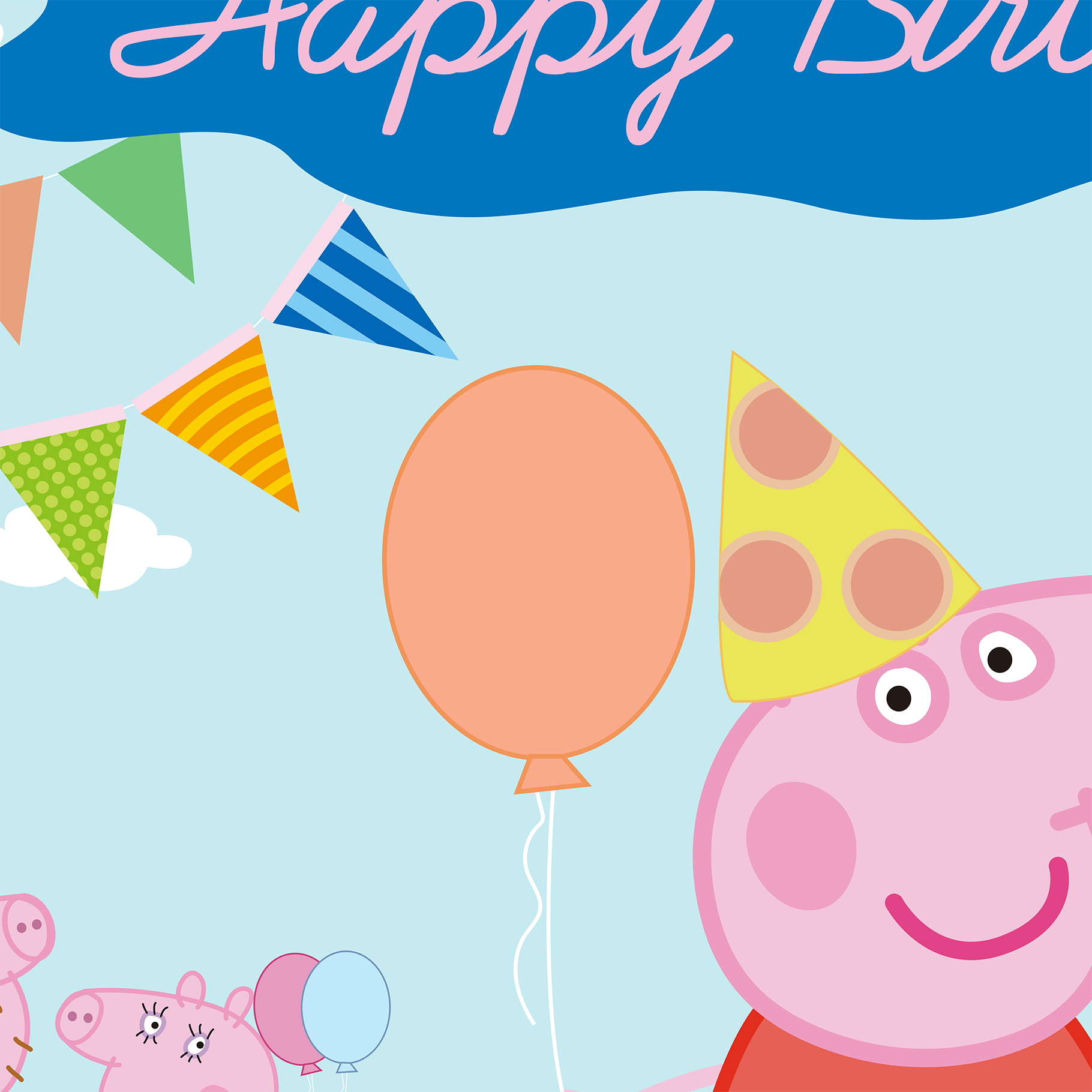 Allenjoy backdrops girls birthday background cartoon pink pig allenjoy backdrops girls birthday background cartoon pink pig flags party banner invitation celebrate party background customize in background from consumer stopboris Images