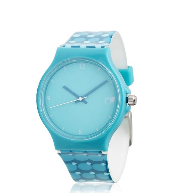 Demiim  Moonie Analog Turquoise Watch