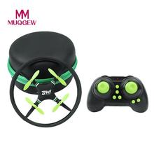 MUQGEW Brand Toys New Mini Super Durable Nano UFO Drone Space Trek 2.4GHz 4-Axis RC Helicopters Pocket 4CH RC Quadcopter