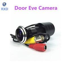 SHRXY HOTsell 170 Wide Angle 800tvl CCD Wired Mini Door Eye Hole Video Camera Color DOORVIEW mini CCTV Camera
