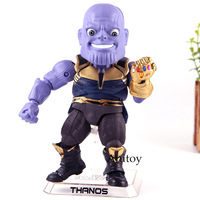 Beast Kingdom Marvel Avengers Infinity War Action Figure Thanos Q Version EAA 059 Egg Attack Action PVC Collection Model Toys