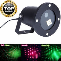 Waterproof Christmas Laser Stage Lighting Landscape Stage Effect Light Projector Red Green Light For Outside Garden