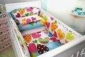 New Baby Bedding Set Material de algodão sensação confortável do bebê cama conjuntos 5 pcs conjuntos 7 tamanho frete grátis bebê berço cama conjuntos