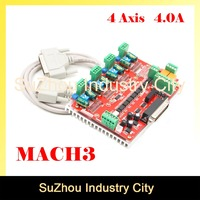 MACH3 4 Axis CNC Controller frequency 200KHz 4.0A CNC stepper motor Driver Board CNC Engraving milling machine control board!