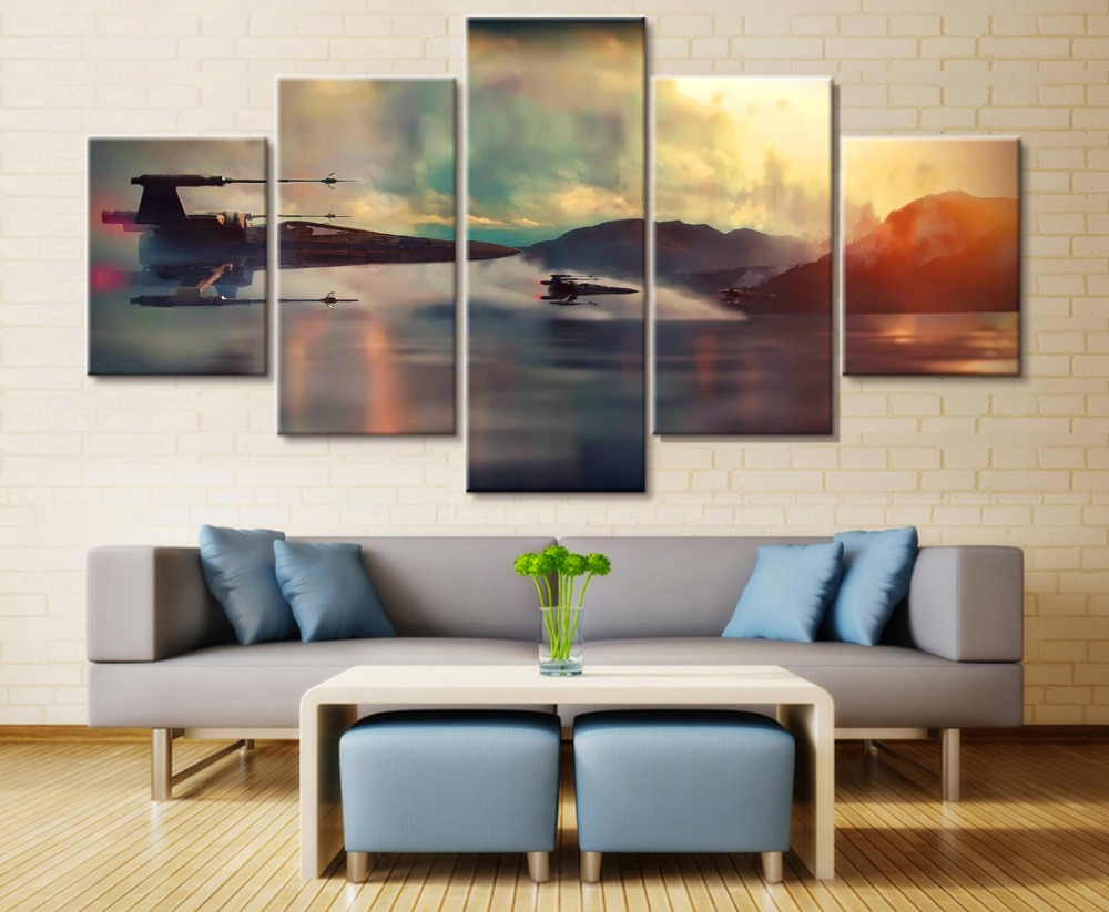 x wing canvas wall art intended for your reference