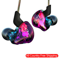 KZ ZST Pro Hybrid Hifi Earphone Headset 3 5mm In Ear Stereo Headphones Balanced Armature With