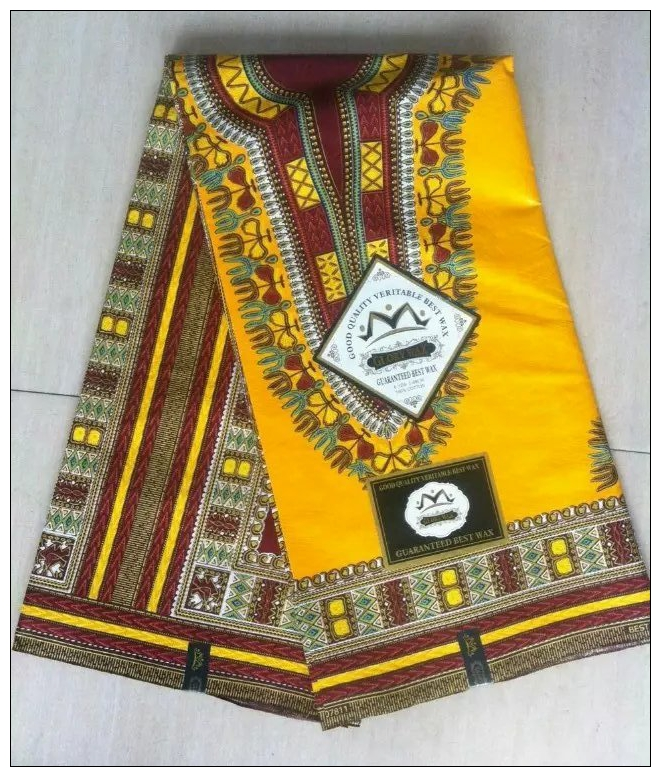 Hot sale yellow nigeria design textile cotton african for Sewing material for sale