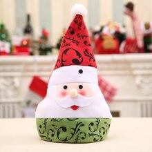 d05597e111a Sombrero de Santa Claus gorro de Navidad muñeco de nieve alce ciervo x-mas  sombreros