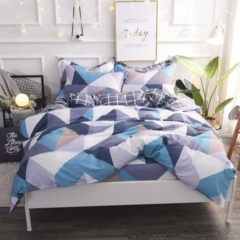 Kids Soft Cotton Bedding set TWIN FULL QUEEN KING size Flat Fitted sheet Bed sheet set Duvet cover parrure de lit ropa de cama