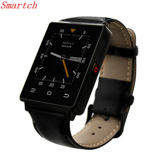 Smartch New Arrival 1G RAM 8 G ROM Quad Core 3G mtk6580 Smart Watch No.1 D6 Android 5.1 Wear WiFi GPS Smartwatch no 1 d6 FM Radi no 1 d6 1 63 inch 3g smartwatch phone android 5 1 mtk6580 quad core 1 3ghz 1gb ram gps wifi bluetooth 4 0 heart rate monitoring
