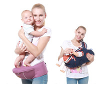 Baby 4 Seasons Strap Children's Waist and Breathable Multi function Carrier Mother & Kids Activity & Gear Backpacks & Carriers