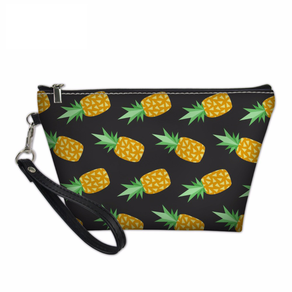 NOISYDESIGNS Makeup Organizers Bags Women Ladies Beach Toiletry Bag Pineapple Pattern Cosmetics Make Up Pouchs Functional 55 Bag ...