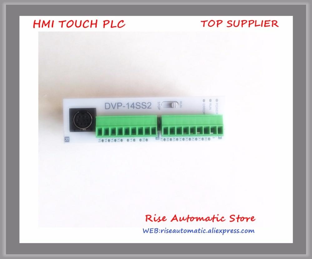 New Original Programmable Controller Module DVP14SS211R PLC DI 8 DO 6 Relay 24VDC