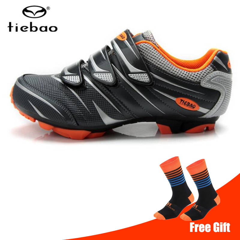 Tiebao Men Cycling Shoes 2018 Mountain Bike Breathable Non slip superstar sapatilha ciclismo MTB Bicycle sports