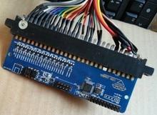 Diy máquina arcade JAMMA tv-a-pc convertidor a través de USB / arcade 28 pins pcb para la moneda de arcade game / mame juego, joystick USB drive