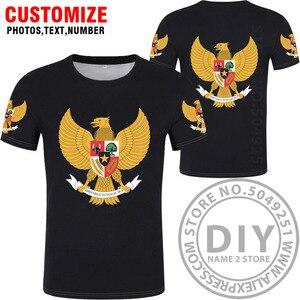 Image 3 - אינדונזיה t חולצה diy משלוח תפור לפי מידה שם מספר idn חולצה האומה דגל מזהה המדינה כיה אינדונזית הדפסת תמונה 0 בגדים