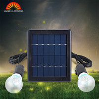 NEW Solar Light 1/2pcs Bulb Solar Panel Energy Led Light Solar Lamp Garden Decor Durable for Village Patio Indoor Bulb Led Lamp