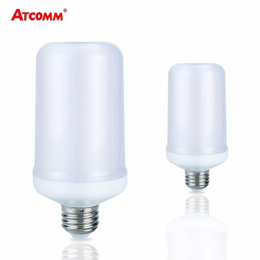 2 modes e27 led lamp flame effect 85 265v led diode bulb. Black Bedroom Furniture Sets. Home Design Ideas