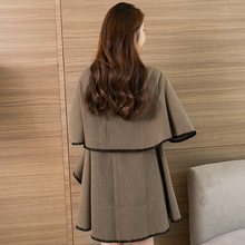 Thick Women Winter 2017 Cashmere Poncho Capes Shawl Warm Cardigans Sweater Coat Dl797203