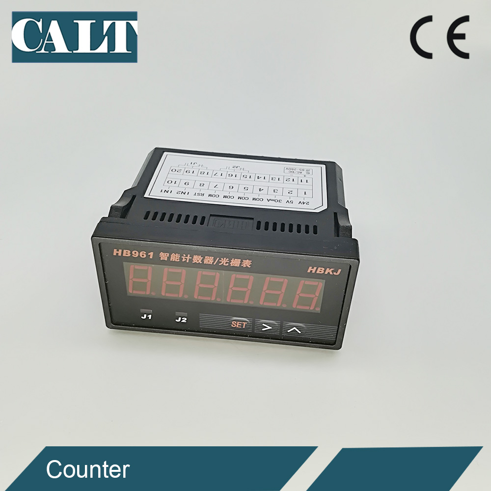 1000mm Linear draw wire encoder distance measuring cable motion transducer with 6 Digital Counter Display Table HB961 in Signal Generators from Tools