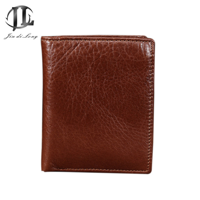 2016 top quality cowhide genuine leather men wallets luxury,dollar price short style male purse carteira masculina