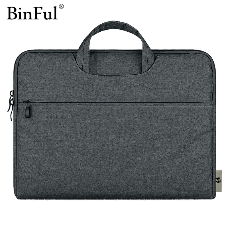 Binful Case for MacBook air Pro 11 12 13 15 Bag for Xiaomi Notebook Air Laptop Sleeve 14 15.6 inch