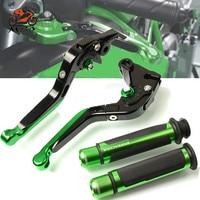 Motorcycle Accessory 22MM Brake Clutch Levers&Handlebar Grip Handbar End For For KAWASAKI Z800 Z800E Version 2013 2014 2015 2016