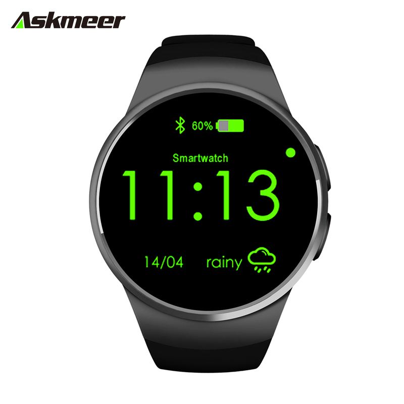 NFC Heart Rate Monitor Smart Watch KW18 SIM TF Bluetooth Smartwatch Android 2.5D OGS Touch Screen Smart Wristwatch Facebook Buit fashion heart rate monitor smart watch sim tf smartwatch android 2 5d ogs touch screen smart wristwatch bluetooth facebook buit