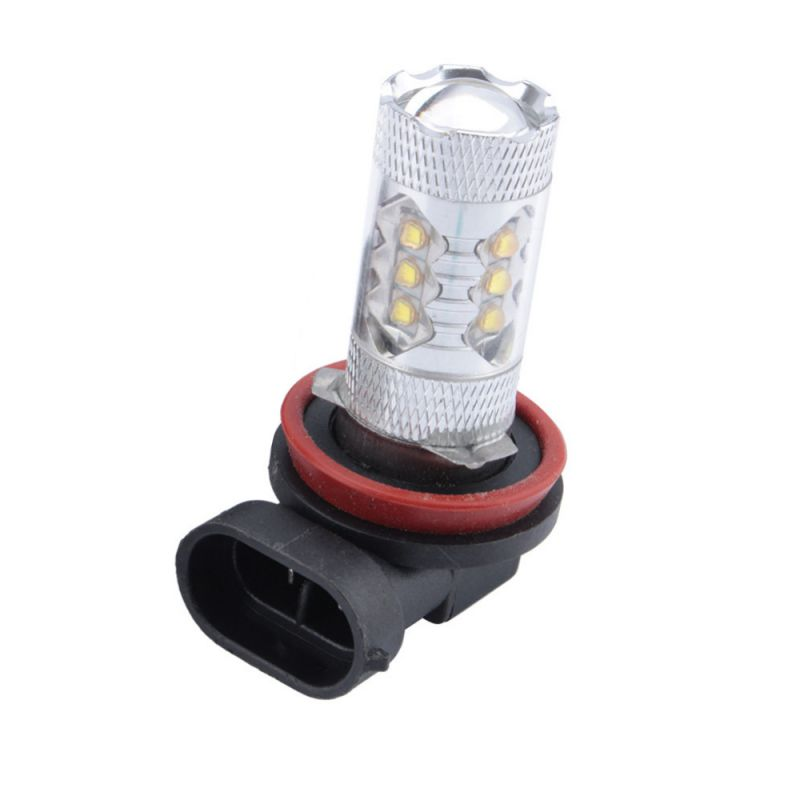 Car-styling 360 Degree 80W 12V Car LED Bulb Fog/Driving Light Auto Car Super White Light Parking H11 12v led light auto headlamp h1 h3 h7 9005 9004 9007 h4 h15 car led headlight bulb 30w high single dual beam white light
