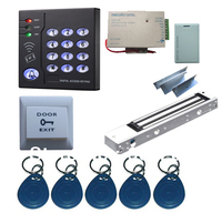 New Arrival Complete Single Door RFID Card Access Control System Kits