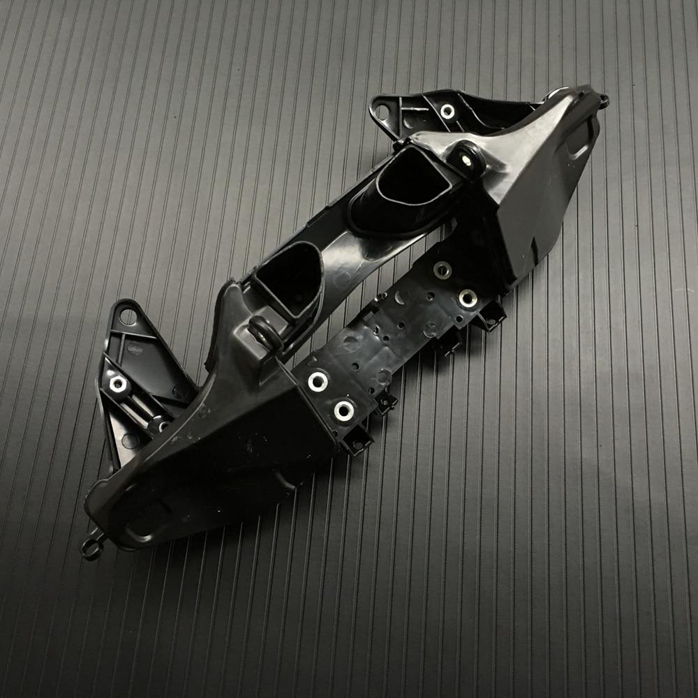 Black Upper Fairing Stay Bracket Cowling Headlight For Honda CBR 600RR CBR600RR 2007-2012 2008 2009 2010 2011