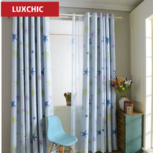 Custom Made High Quality Floral Pink Rustic Curtains for Living Room Bedroom Princess Sheer Window Treatment
