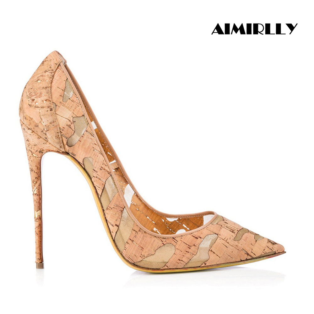 Womens Stilettos High Heels Pointed Toe Court Shoes Ladies Girls Pumps Size 2-8