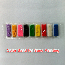 9 Color Sand For Sand Painting Art Creative Drawing Girls Education Children Toys Sand For Painting