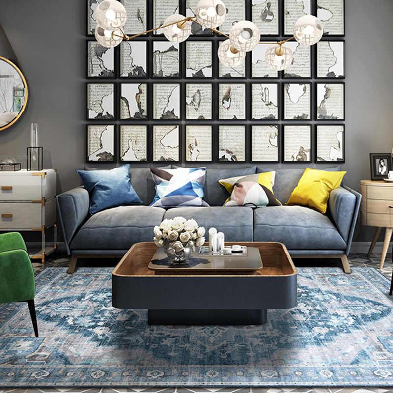 Винтажный марокканский ковер гостиная спальня прикроватный коврик Домашний кофейный столик для отеля напольный коврик для кабинета ковры и ковры синель