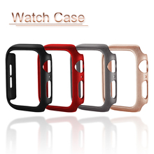 PC Watch Case For Apple Watch 4 3 2 1 Protective Cover Frame For iwatch 44mm 40mm 38mm 42mm Bumper Watch Shell Accessories цена и фото